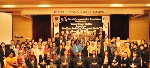 پنجمین کنفرانس انجمن جهانی ارتباطات در مالزی