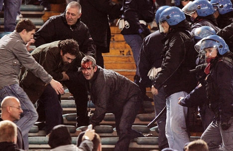 تظاهرات ایتالیا