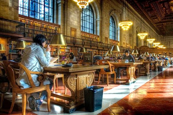 آشنایی با کتابخانه عمومی نیویورک - آمریکا