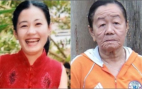 زن جوانی که در بدن یک پیر زن به دام افتاده است