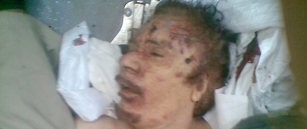 gaddafi killed