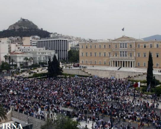 اعتصاب و تظاهرات سراسری در یونان
