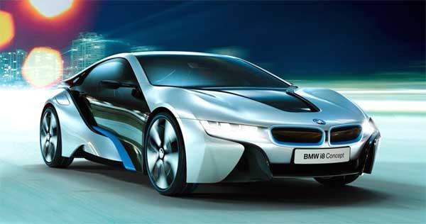 اولین خودروی جهان با چراغهای لیزری