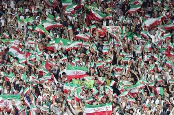 تصاویری از پیروزی مقتدرانه ایران در برابر بحرین