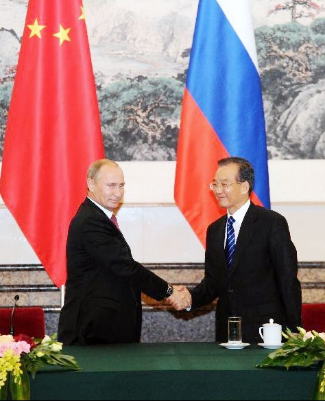 نخست وزیر روسیه به چین سفر کرد
