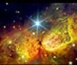 مقارنه ماه و ستاره دبران
