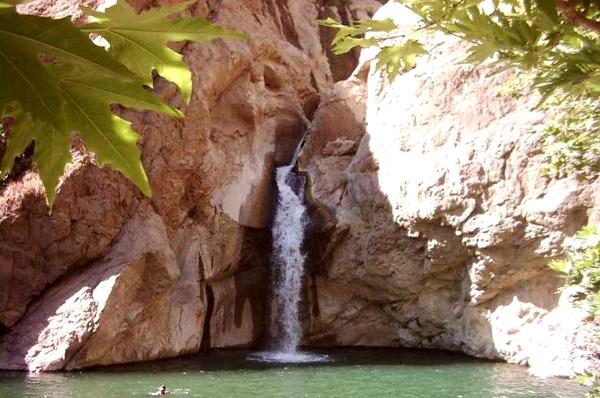 آشنایی با آبشار شلماش - آذربایجان غربی