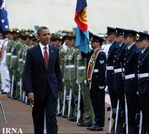 اطلاعات محرمانه سفر اوباما به استرالیا در جوی آب پیدا شد
