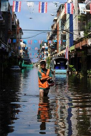 20درصد بانکوک زیر آب است