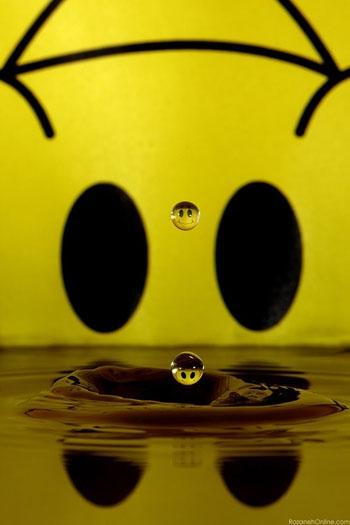 این قطرههای آب