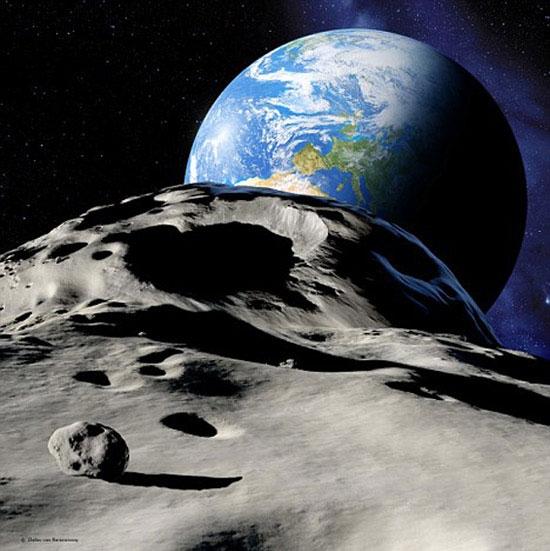 عبور سیارک از نزدیکی زمین