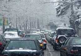 برف ترافیک