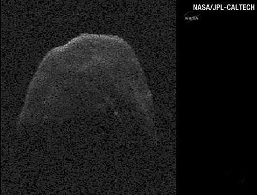 سیارک 400 متری از کنار زمین عبور کرد