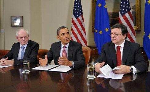 بیانیه مشترک آمریکا و اروپا درباره ایران
