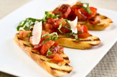 بروشتا؛ پیشغذای ایتالیایی