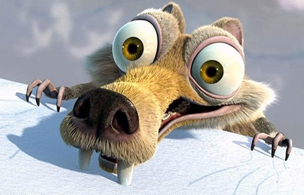 سنجاب کارتون عصر یخبندان واقعاً وجود داشته است