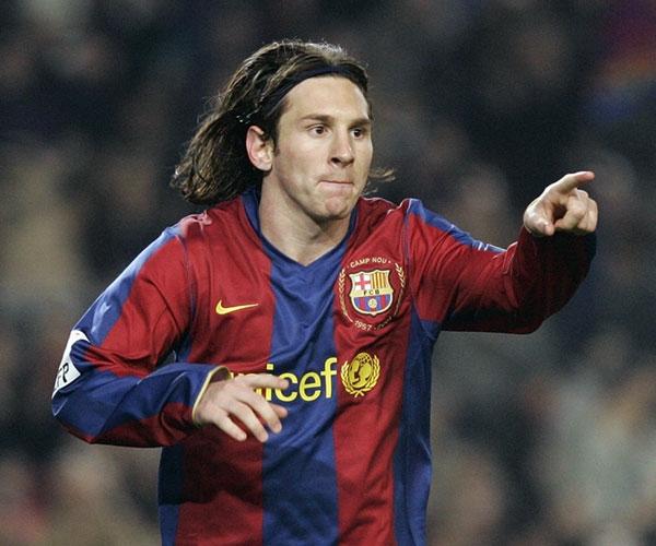 لیونل مسی بارسلونا را از شکست نجات داد