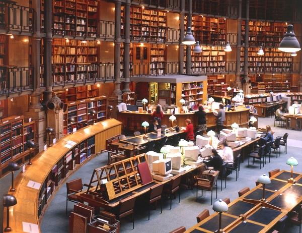 آشنایی با کتابخانه ملی فرانسه