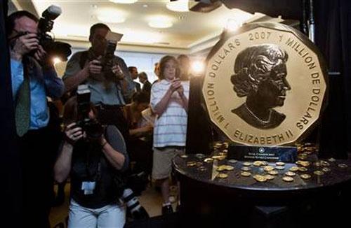 سکه طلای یک تنی