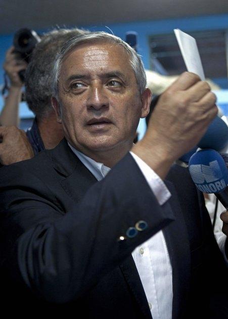 رئیسجمهور جدید گواتمالا