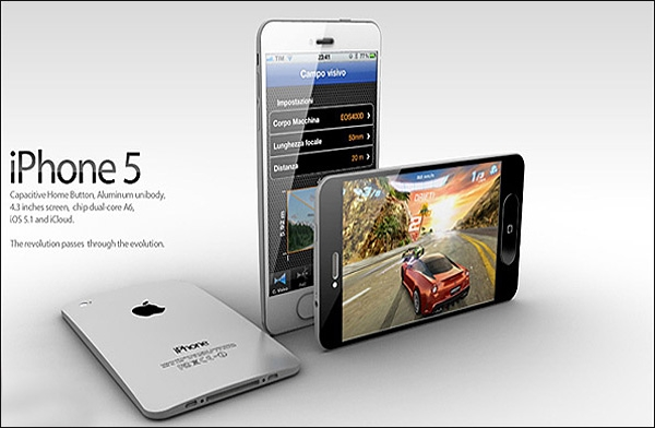 آیفن 5 یک نمایشگر 4 اینچی دارد