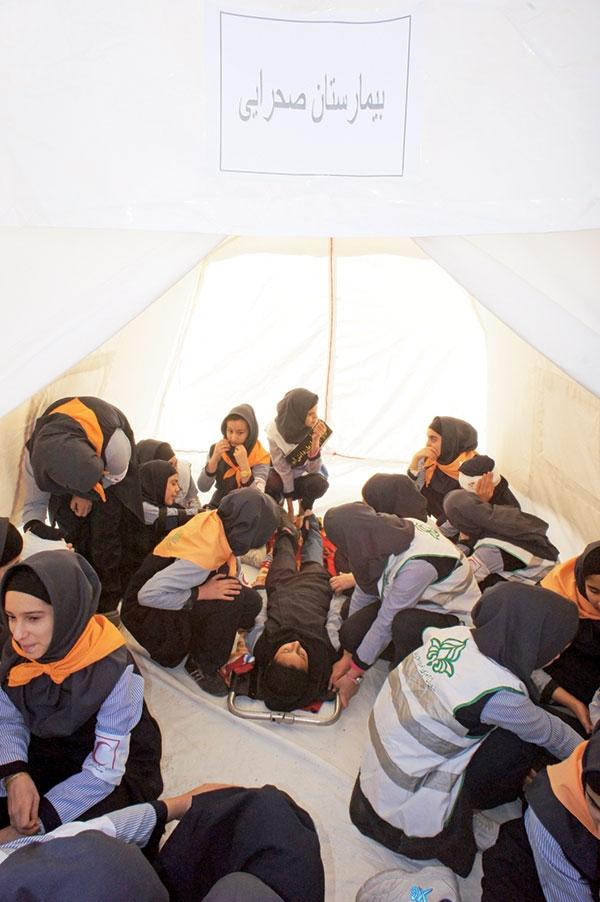 دانشآموزان تهرانی، آموزش مدیریت بحران میبینند