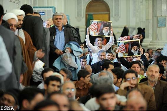 تصاویری از گردهمایی بزرگ جبهه متحد اصولگرایان