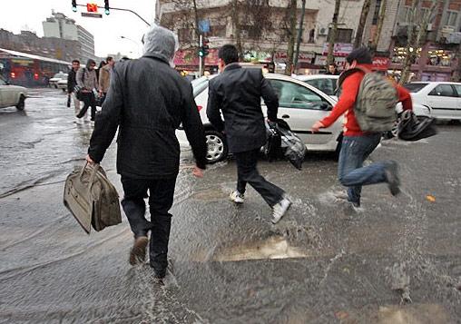 باران سیلاب آبگرفتگی آب گرفتگی