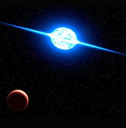 بزرگترین و سریعترین ستاره ثبت شده تاکنون