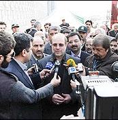 قالیباف در جمع خبرنگاران