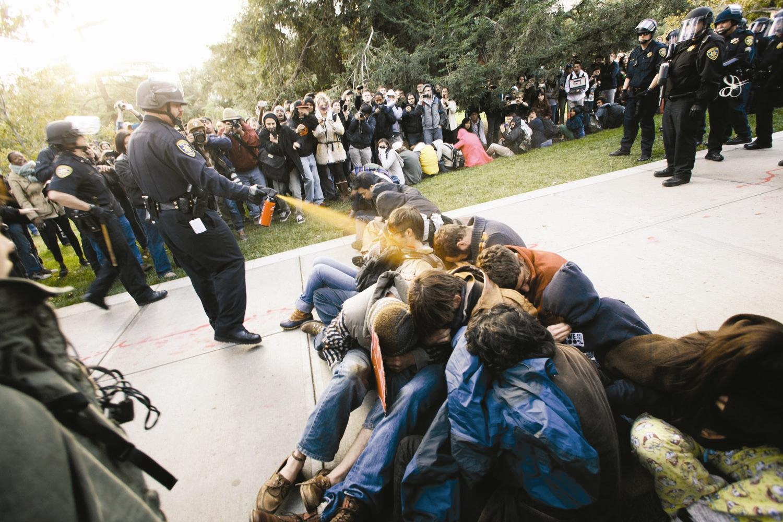 آمریکا-تظاهرات - دانشجویان