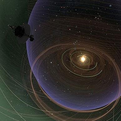 فضاپیماهای دور افتاده ناسا، تشعشعات کهکشان راه شیری را رصد کردند