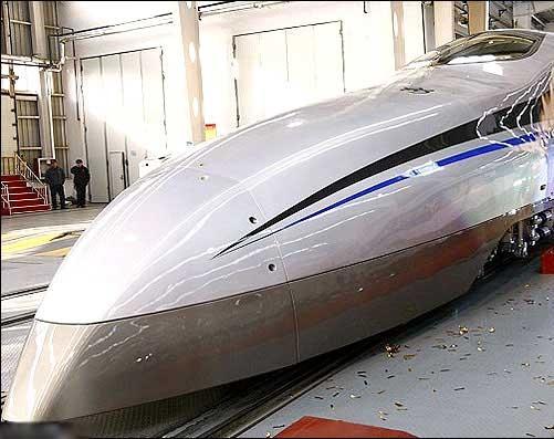 سریعترین قطار چینیها رونمایی شد