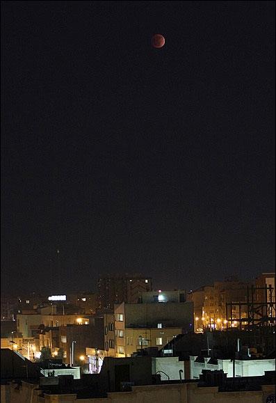 تصاویر ماه گرفتگی