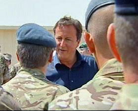 سفر اعلام نشده نخست وزیر انگلیس به افغانستان