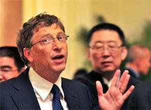 بنیانگذار مایکروسافت و چین