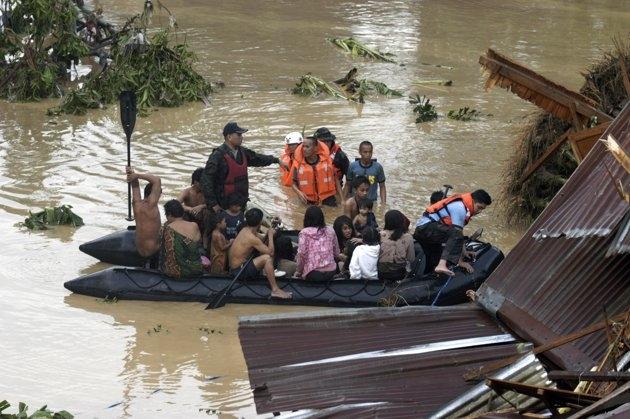 مرگ 500  نفر در فیلیپین