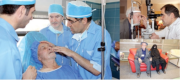 جراحی رایگان برای نجات چشمان دهقان فداکار