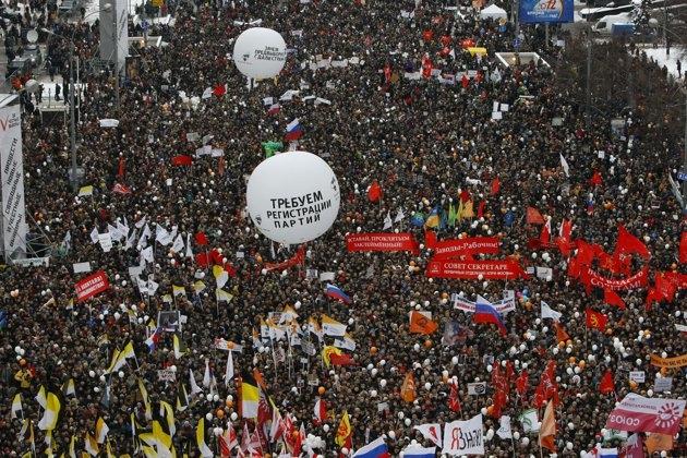 تظاهرات 3 دی در روسیه
