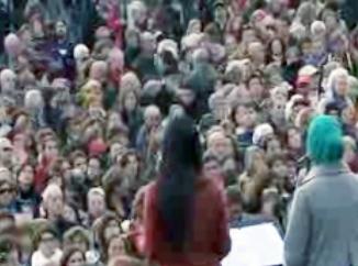 زنان ایتالیایی در اعتراض به تبعیض و نابرابری تظاهرات کردند