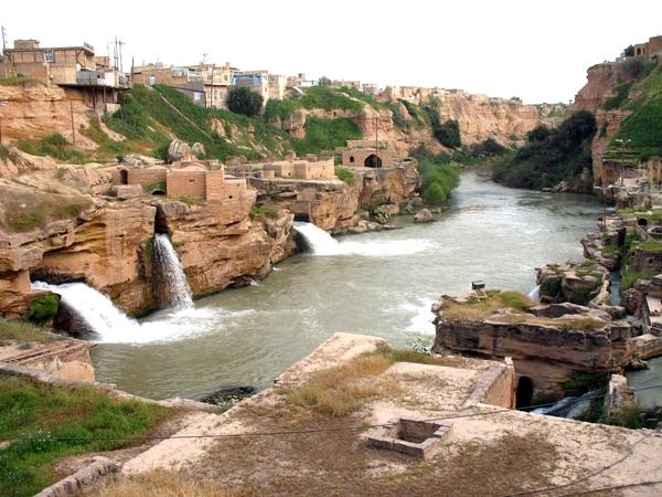 آشنایی با مجموعه آسیابها و آبشارهای شوشتر - خوزستان