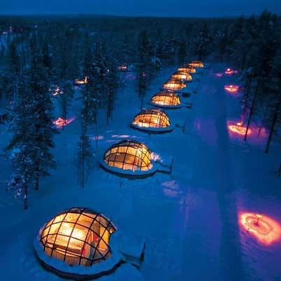 آشنایی با هتل شیشهای - فنلاند