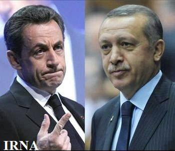 اردوغان به سارکوزی هشدار داد
