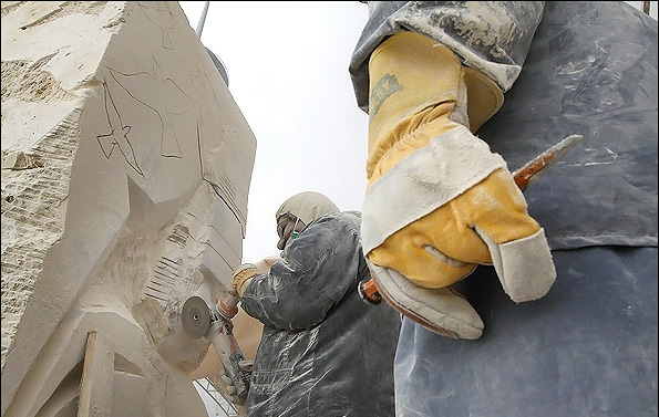گزارش تصویری از سومین سمپوزیوم مجسمهسازی تهران