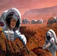 زندگی روی مریخ