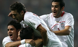 پیروزی فوتبال امید ایران مقابل قرقیزستان