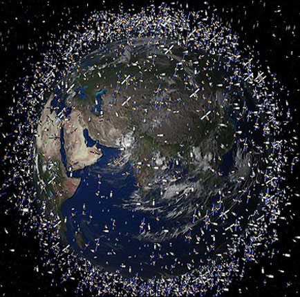جمع آوری زباله های فضایی