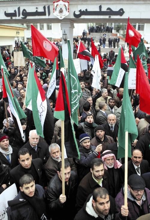 اردن - تظاهرات