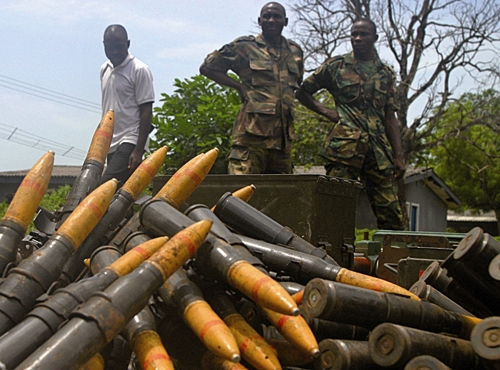 سربازان - نیجریه