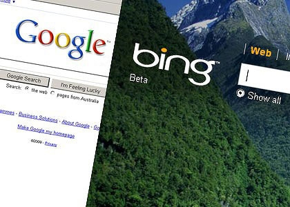bing overtaking google